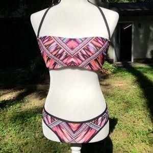 Gianni Bini Multi-Colored Bikini | Size Medium